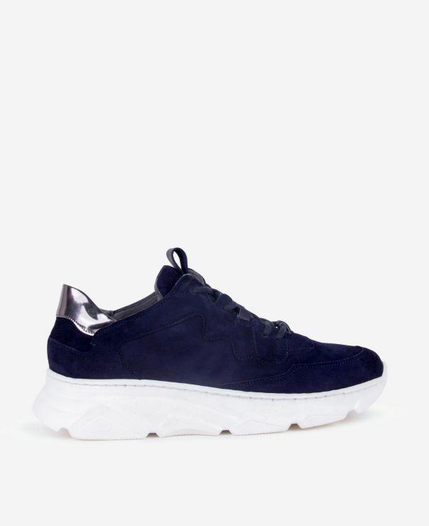Granatowe buty sportowe  7067-Z010-B250